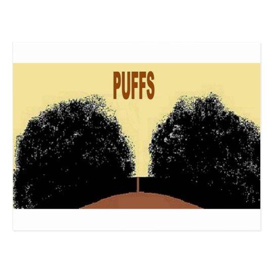 PUFFS POSTCARD