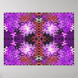 puffs purple poster