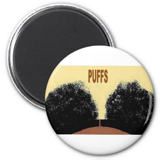 PUFFS REFRIGERATOR MAGNET