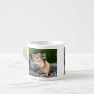 Puffy Cheeked Chipmunk Espresso Cup