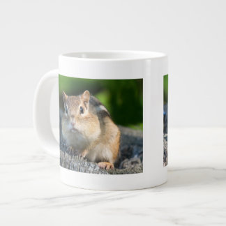 Puffy Cheeked Chipmunk Large Coffee Mug