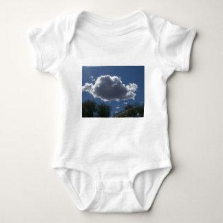 Puffy Cloud Baby Bodysuit