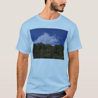 Puffy Cloud Over The Forrest T-Shirt