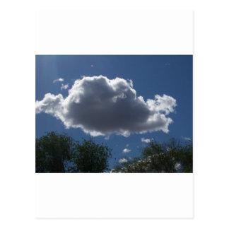 Puffy Cloud Postcard
