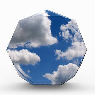 Puffy Clouds Acrylic Award