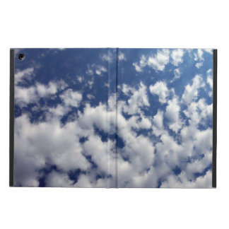 Puffy Clouds On Blue Sky Cover For iPad Air