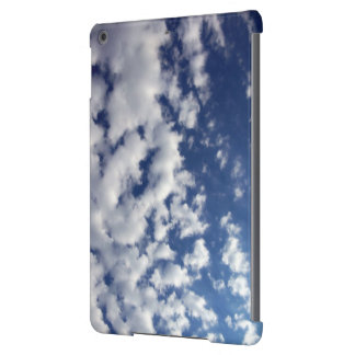 Puffy Clouds On Blue Sky iPad Air Cover