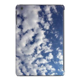 Puffy Clouds On Blue Sky iPad Mini Retina Case