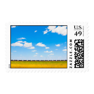 Puffy Clouds Postage Stamps