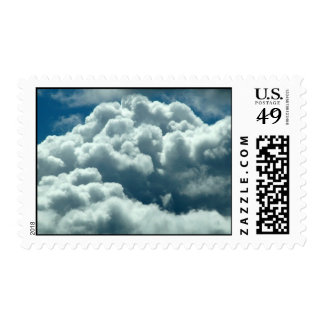 Puffy Clouds Postage