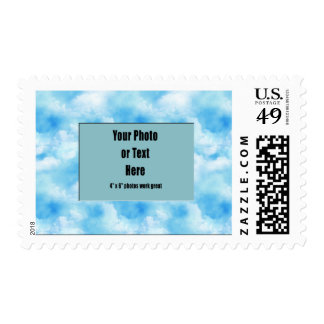 Puffy Clouds Stamp