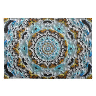 Puffy Gold Cloth Place Mat