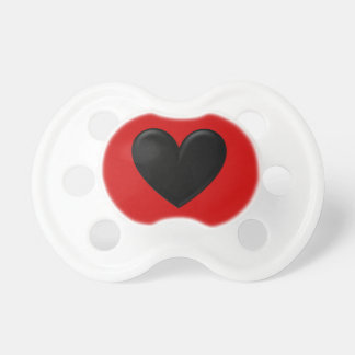 Puffy Heart Pacifier