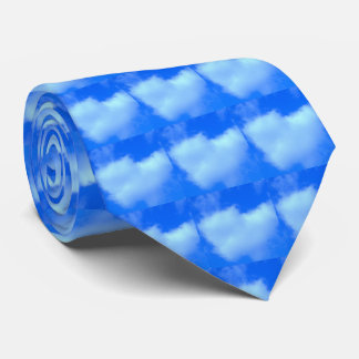 Puffy Heart Shaped Cloud Tie