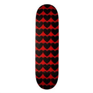 Puffy Hearts Skateboard Deck