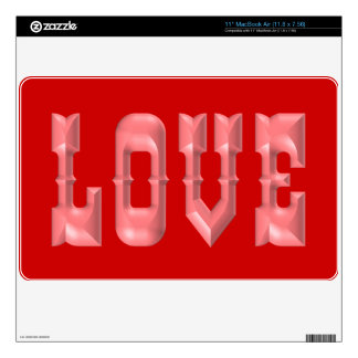 Puffy LOVE Decals For MacBook Air