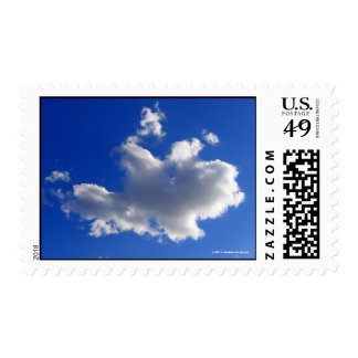 PUFFY MARSHMALLOW CLOUD POSTAGE STAMPS