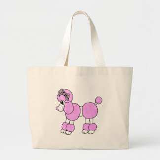 Puffy Poodle Tote