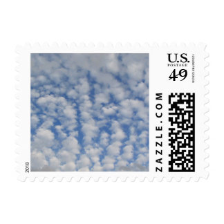 Puffy Sky Postage Stamps