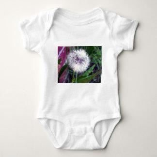 Puffy White Baby Bodysuit