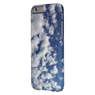 Puffy White Clouds On Blue Sky iPhone 6 Case