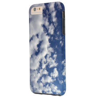 Puffy White Clouds On Blue Sky iPhone 6 Plus Case