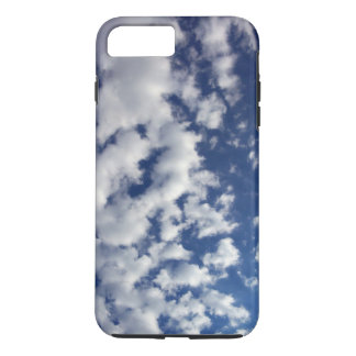 Puffy White Clouds On Blue Sky iPhone 7 Plus Case