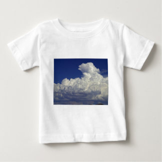 Puffy white Clouds, Sky, Landscapes, photography, T-shirt