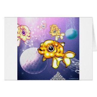 puffygoldfish card