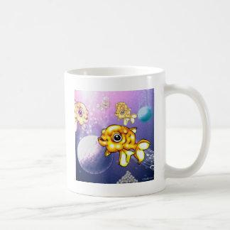 puffygoldfish coffee mug