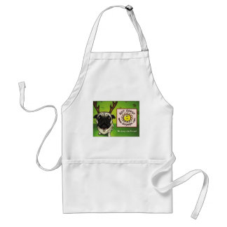 pug2 adult apron