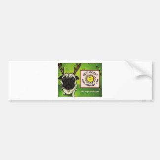 pug2 bumper sticker