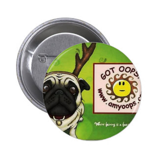 pug2 pinback buttons