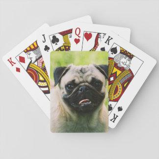 pug-13 cartas de póquer