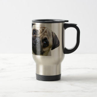pug 15 oz stainless steel travel mug