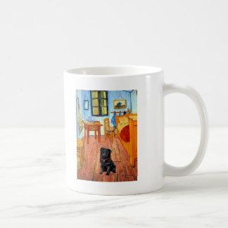 Pug 17 (black) - The Room Coffee Mug