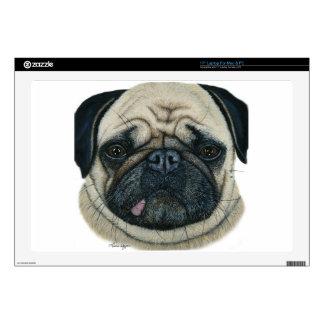 """Pug 17"""" Laptop Skins"""