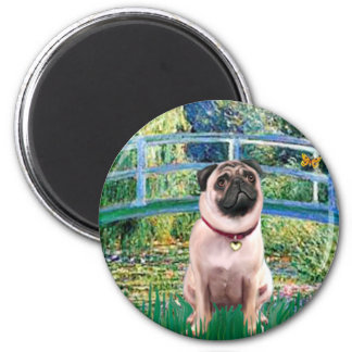 Pug 1 - Bridge Fridge Magnet