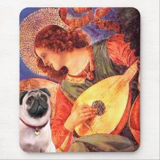 Pug 1 - Mandolin Angel Mouse Pad