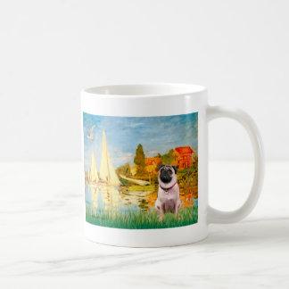 Pug 1 - Sailboats 2 Coffee Mug