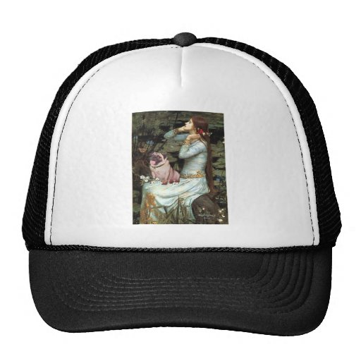 Pug 2 (fawn) - Ophelia Seated Trucker Hat