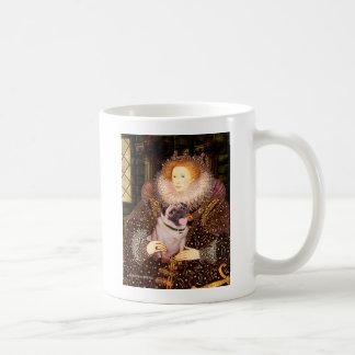 Pug 2 (fawn) - Queen Coffee Mug