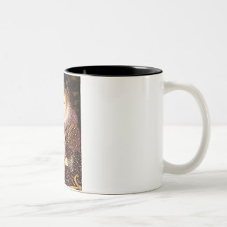 Pug 2 (fawn) - Queen Two-Tone Coffee Mug