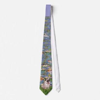 Pug 2 - Lilies 2 Tie