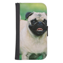 Samsung Galaxy S4 Wallet Case with Mastiff Phone Cases design