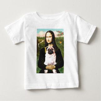 Pug 3 (fawn) - Mona Lisa Shirt