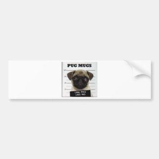 pug_5 bumper sticker