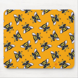 Pug-a-Bee Mouse Pad
