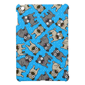 Pug-a-Dot (Blue) Cover For The iPad Mini
