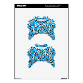Pug-a-Dot (Blue) Xbox 360 Controller Skin